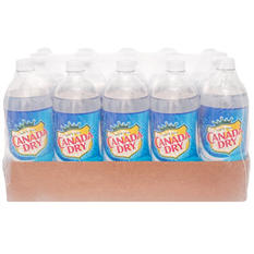 Canada Dry Club Soda (1L bottle)
