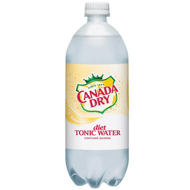 Canada Dry® Diet Tonic - 1 Liter bottle