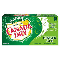 Canada Dry (12 oz. cans, 18 pk.)