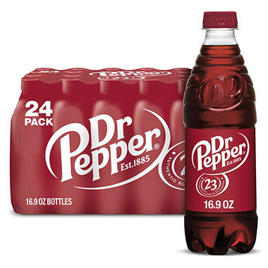 DR PEPPER 24 PK 16.9 OZ BTL