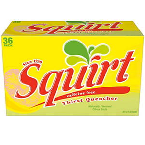 Squirt (12 oz. cans, 36 pk.)