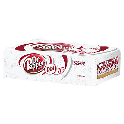 Diet Dr. Pepper (12 oz. cans, 32 pk.)