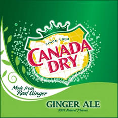 Canada Dry Ginger Ale (12 oz. cans, 32 ct.)