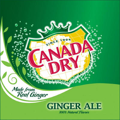 Canada Dry® Ginger Ale - 32/12 oz. cans