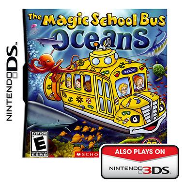 Magic School Bus Oceans - NDS