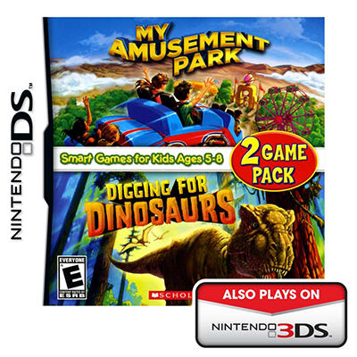 My Amusement Park/Digging for Dinosaurs - NDS