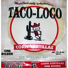 Taco Loco White Corn Tortillas (36 ct.)