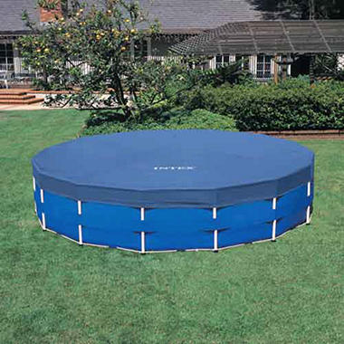 Intex Family-Sized Metal Frame Above Ground Pool Set - 18' x 48""