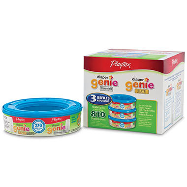 Playtex Diaper Genie Elite Refill - 3 pk.