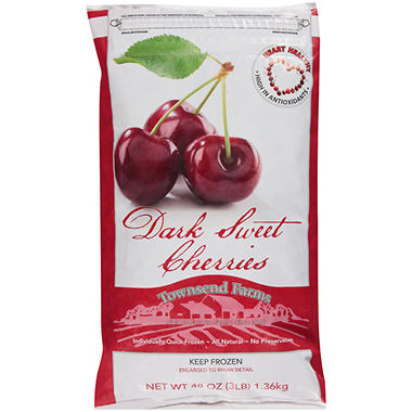 Townsend Farms Dark Sweet Cherries - 48 oz.