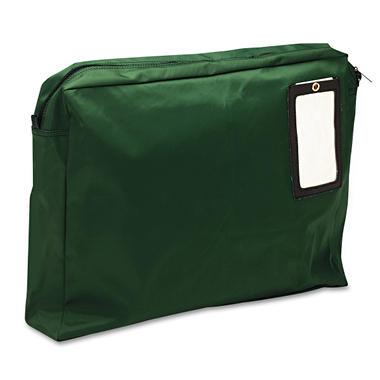 MMF - Expandable Dark Green Transit Sack, 18w x 14h x 4d