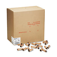 Coin-Tainer Company - Preformed Tubular Coin Wrappers, Quarters, $10 -  1000 Wrappers/Box