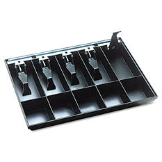 SteelMaster - Cash Drawer Replacement Tray -  Black