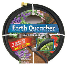 50' Earth Quencher Soaker Hose - 2 Pack