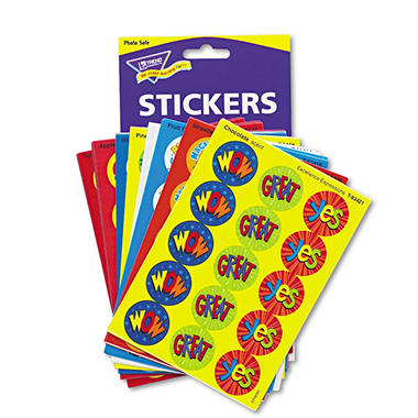 TREND - Stinky Stickers Variety Pack, Praise Words - 432 ct.