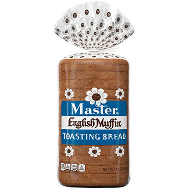 Master® English Muffin Toasting Bread - 16 oz. - 2 ct.