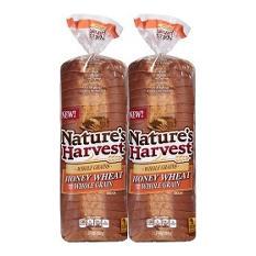 Nature's Harvest Honey Wheat Bread (20 oz., 2 pk.)