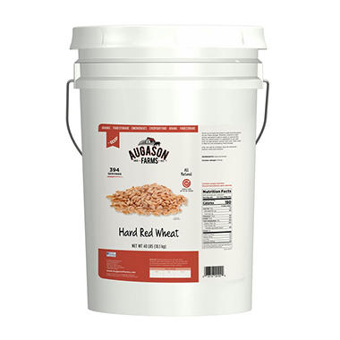 Augason Farms Hard Red Wheat - 40 lb. Pail