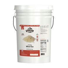 Augason Farms Long Grain White Rice (42 lb. pail)