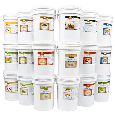 Augason Farms Emergency Food Kit in Pails - 1 year - 1 person