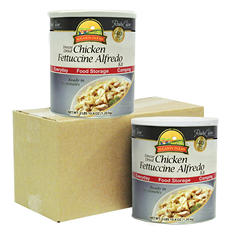 Augason Farms Freeze-Dried Chicken Fettucine Alfredo - 2 pk.