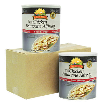 Augason Farms Freeze-Dried Chicken Fettucine Alfredo - 2 pk.