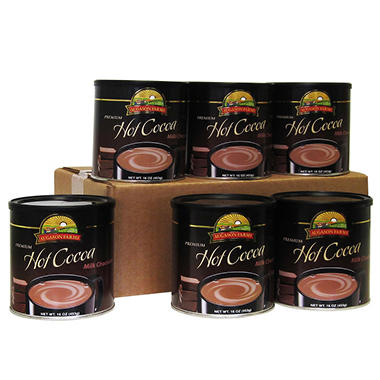 Augason Farms Milk Chocolate Hot Cocoa Mix - 6 pk.