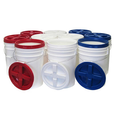 Augason Farms Storage Pails - 10 pk.