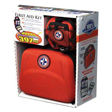 Emergency First Aid Kit - 397 pc.