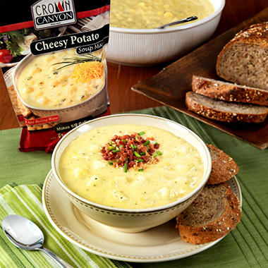 Crown Canyon™ Cheesy Potato Soup Mix Pouch - 6 pk.