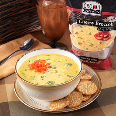 Crown Canyon™ Cheesy Broccoli Soup Mix Pouch - 6 pk.