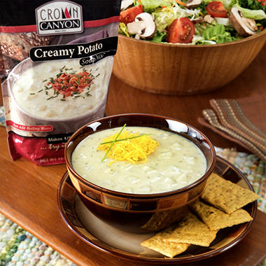 Crown Canyon™ Creamy Potato Soup Mix Pouch - 6 pk.