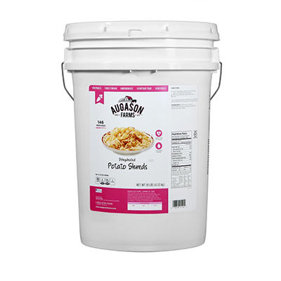 Augason Farms Potato Shreds - 10 lb. Pail