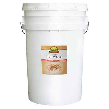 Augason Farms Hard Red Wheat - 18 Pails