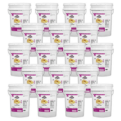 Augason Farms Dehydrated Potato Slices - 18 Pails