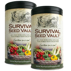 Augason Farms Patriot Survival Seed Vault (2 pk.)