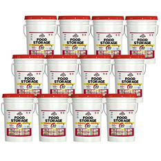Augason Farms Emergency Food Storage All-in-One Pails Kit (1 year - 1 person)