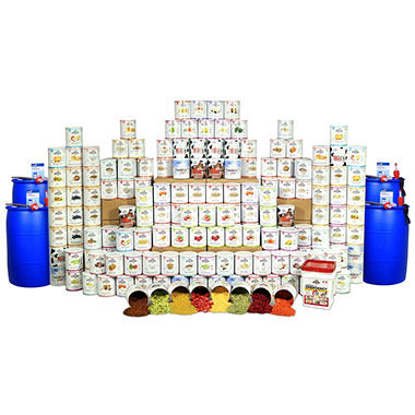 Augason Farms Premium Food Storage Kit - 1 Year - 4 Person<br>Limited Time Offer