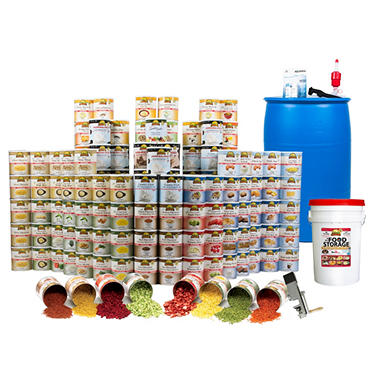 Augason Farms Food Storage Kit - 1 Year - 1 Person<br>Limited Time Offer