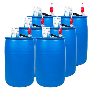 Augason Farms Emergency Water Storage Kit - 6 barrels