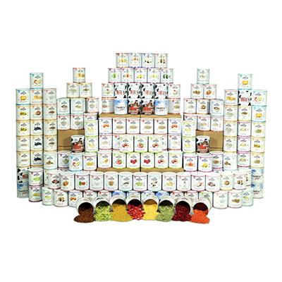 Augason Farms Emergency Food Storage Kit (1 year/4 people)