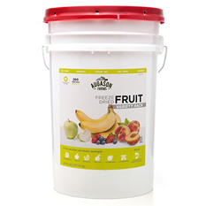 Augason Farms Freeze-Dried Fruit Variety Pack (4 lb., 9.6 oz. pail)