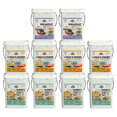 Augason Farms Month Emergency Food Supply Kit (1 month, 4 people)