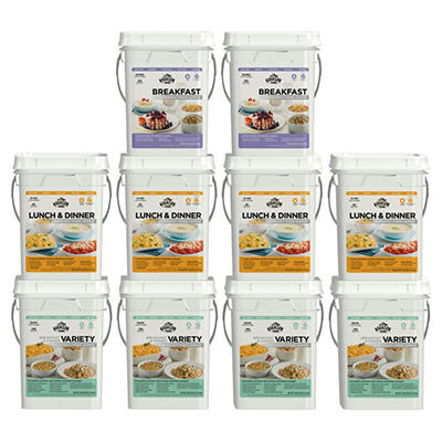 Augason Farms One Month Emergency Food Supply Kit for 4 people