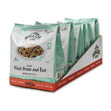Augason Farms Pantry Pack, Instant Black Beans and Rice (6 Pouches)