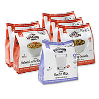 Augason Farms Pantry Pack, Breakfast Variety (6 Pouches)