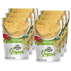 Augason Farms Organic Corn Chowder Soup Mix (6 pouches)