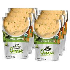 Augason Farms Organic Cheddar Broccoli Soup Mix (6 pouches)