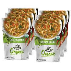Augason Farms Organic Chicken Noodle Soup Mix (6 pouches)