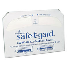 Georgia Pacific Safe-T-Gard, Toilet Seat Covers, 2,500 ct.
